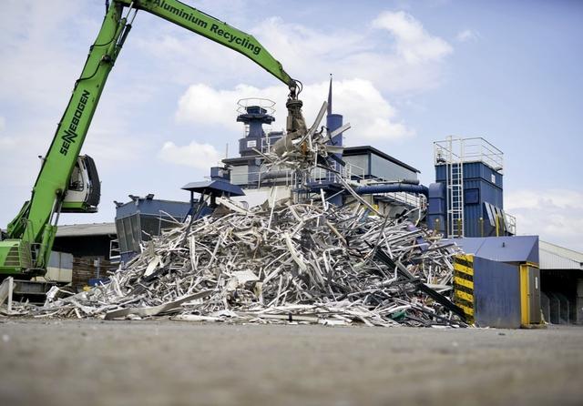 Wicona Recycling plant Dormagen