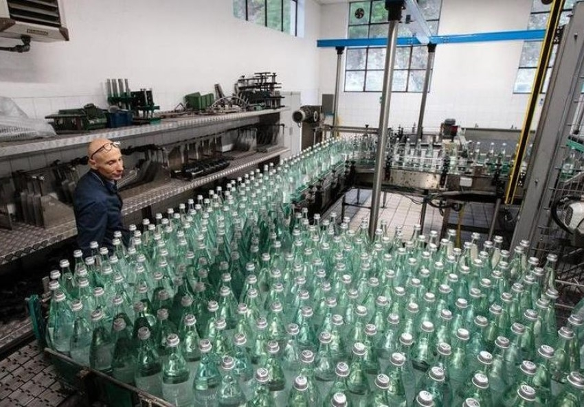 Lurisia water bottling plant