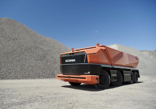 Scania reveals fully autonomous cabless truck