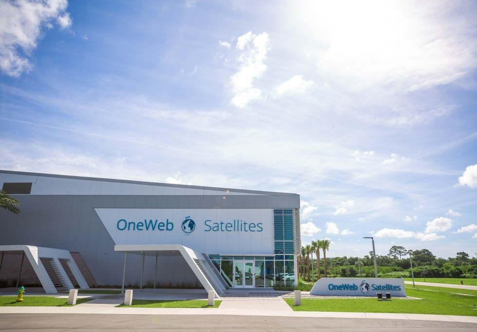 OneWeb Satellies