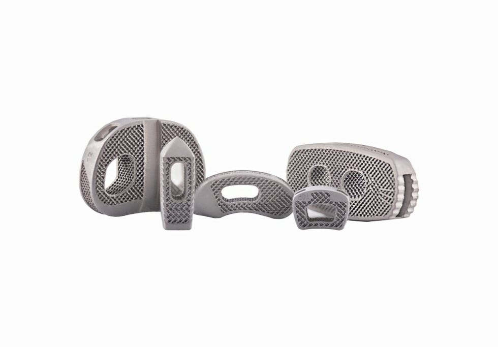 DePuy Synthes expands 3D titanium printed spinal implant portfolio