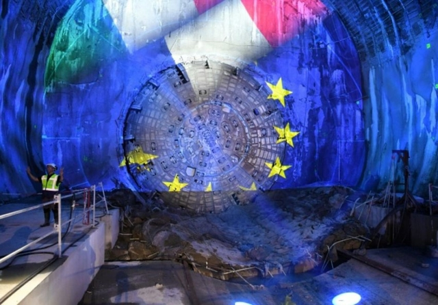 First 9 km of Lyon-Turin rail tunnel completed