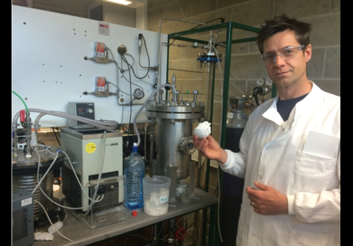 Cambridge start-up turns CO2 into construction material