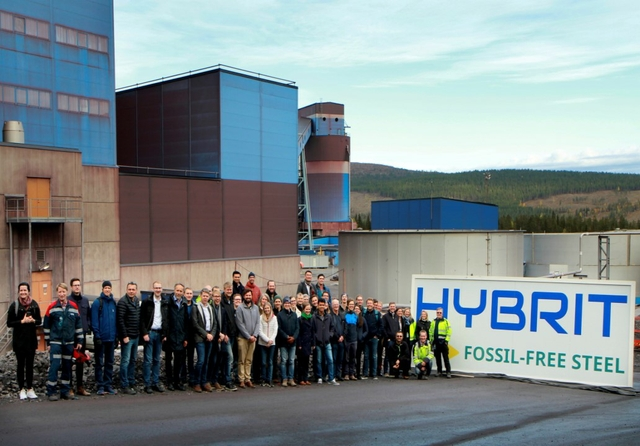 HYBRIT: €18.5m invested in fossil-free hydrogen storage pilot plant