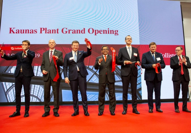 Hollister opens new manufacturing facility in Lithuania