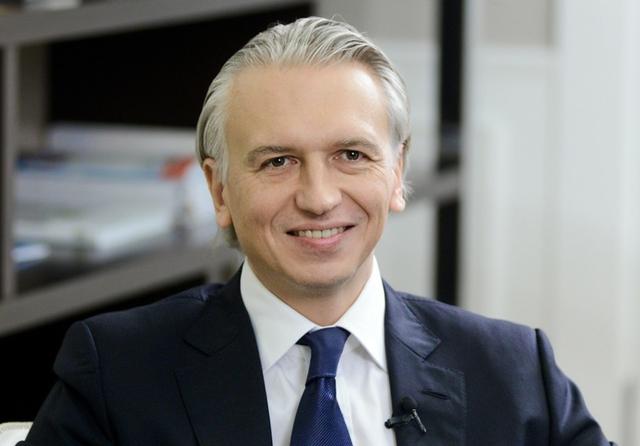 Gazprom chair Alexander Dyukov