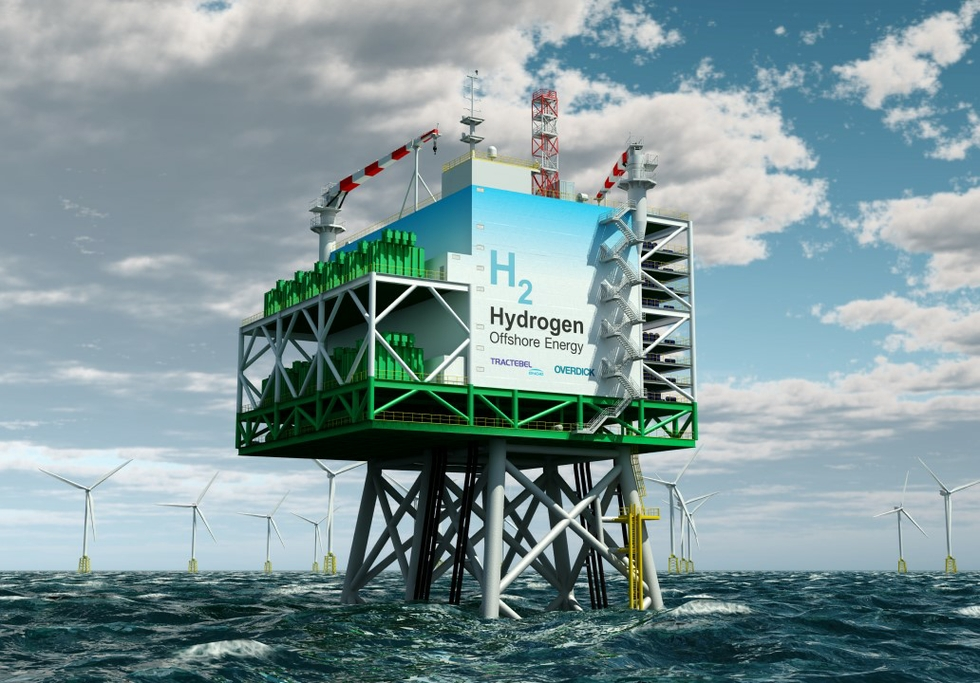Tractebel reveals windpower to hydrogen technology