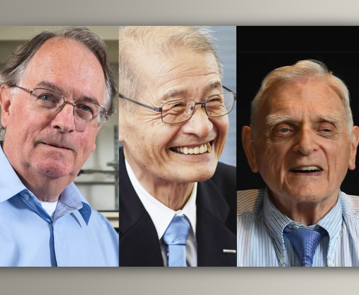 Nobel Chemistry Prize awarded to lithium battery pioneers