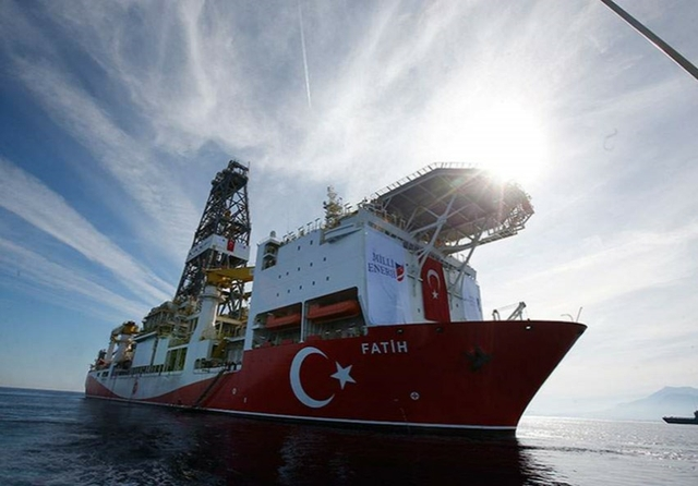Turkey drillship Fatih
