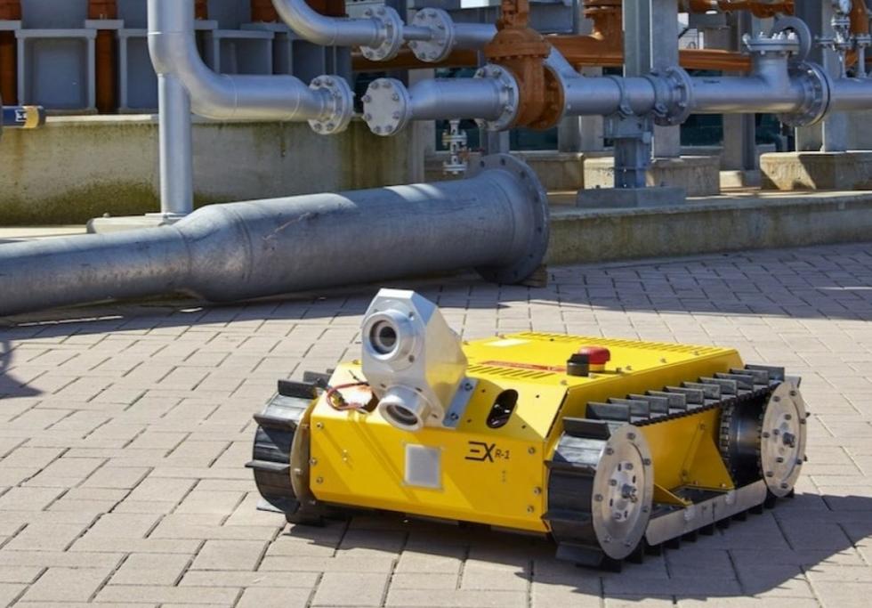 ExRobotics & Yokogawa partner for robots in hazardous environments