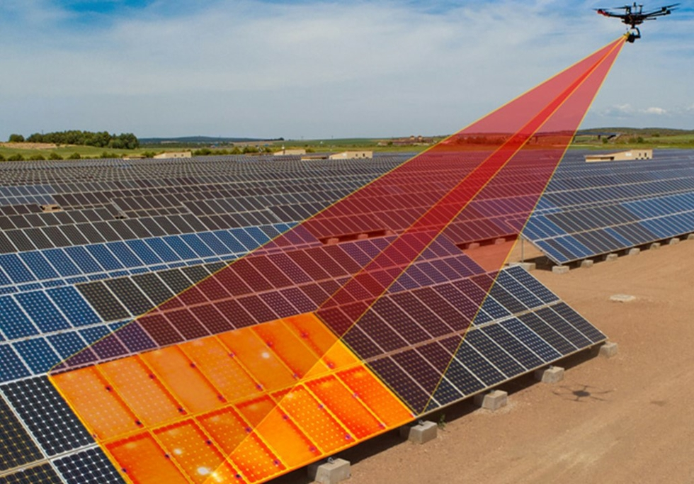 TSO develops solar plant maintenance software using drones