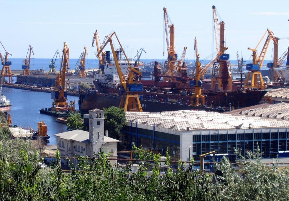 Constanta shipyard, Romania