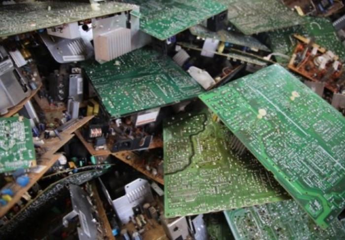 Waste electronics