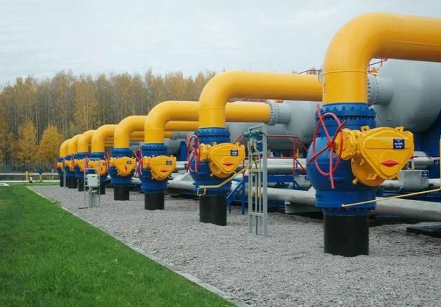 Gas interconnector Slovakia-Hungary. Credit: Gazprom