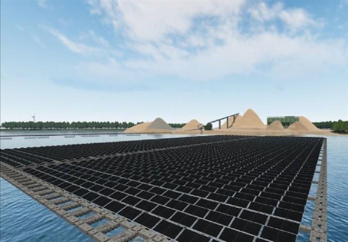 Vattenfall floating solar