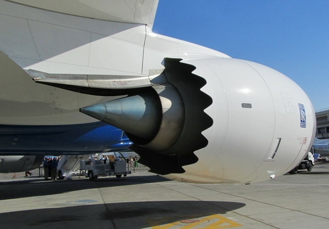 Rolls-Royce Trent 1000. Credit: Kurush Pawar / Flickr (Licence: CC BY-SA 2.0)
