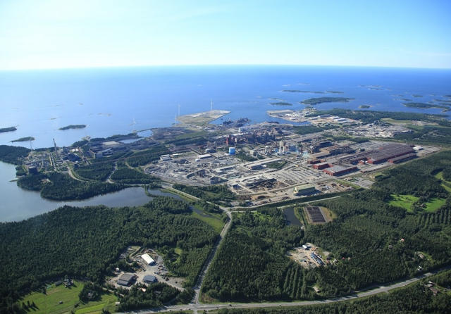 Raahe steel mill