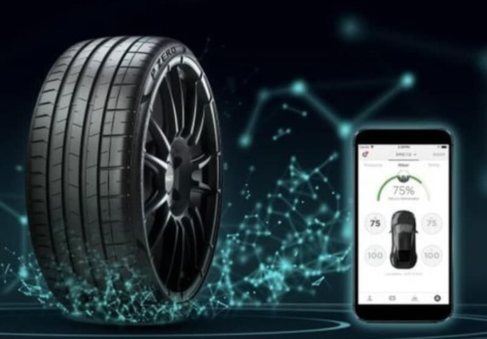 Pirelli intelligent tyres 5G