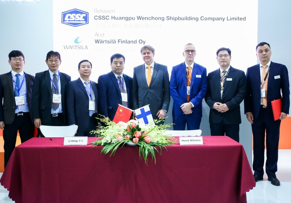 Wärtsilä & CSSC Huangpu Wenchong