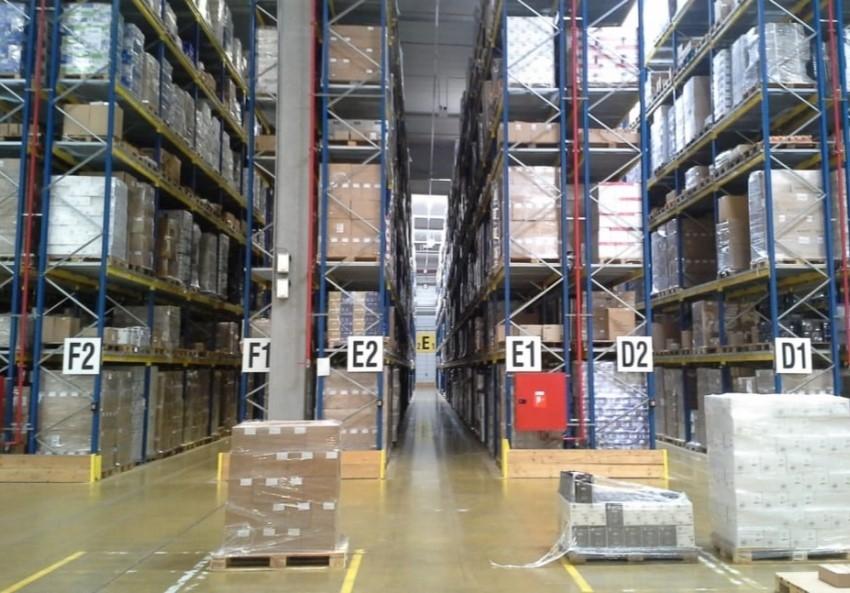 Factory warehouse storage