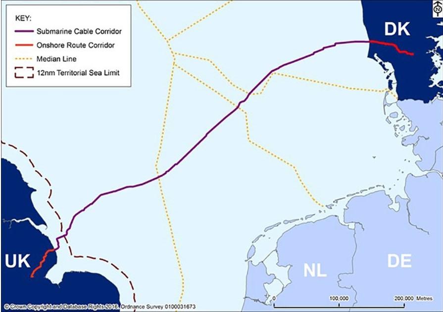 Viking Link map