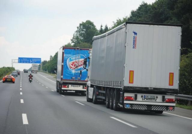 Truck emissions