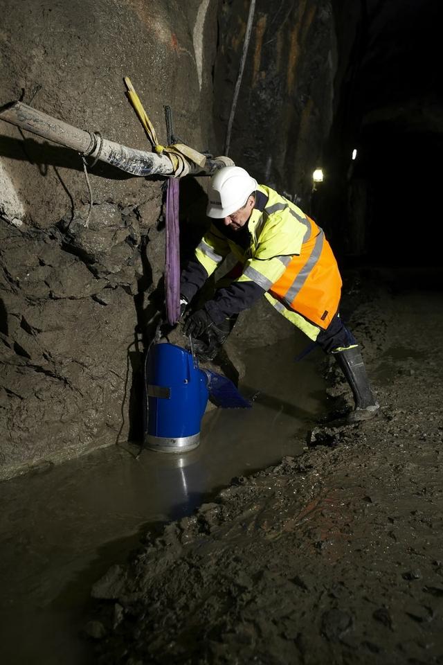 Sulzer tunnel dewatering