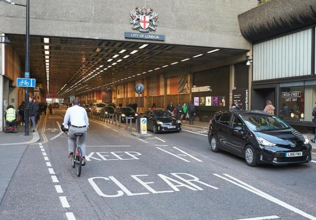 London emissions free street