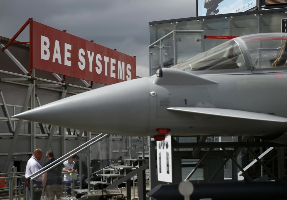 BAE Systems goes on €2bn spending spree in US