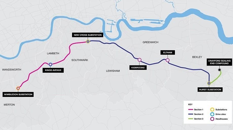 LPT2 London map