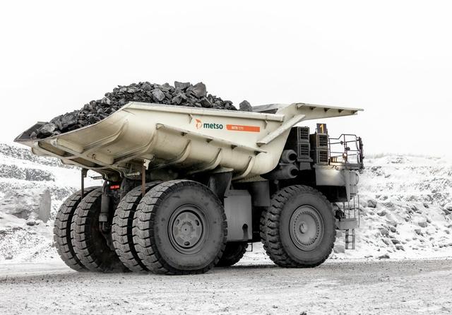 Metso truck body