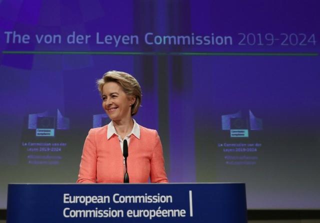 Commission President von der Leyen