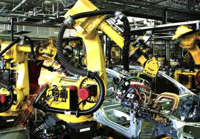 Automated robot welders