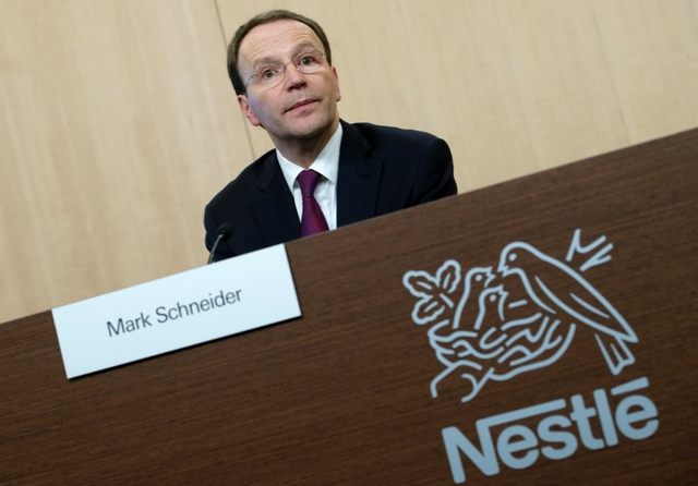 Mark Schneider, Nestle CEO