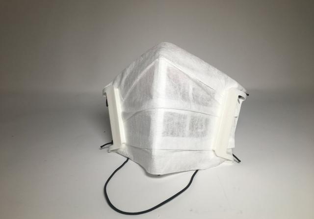 Essentium 3D Printed Mask