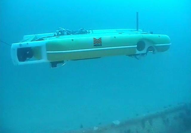 HAUV subsea
