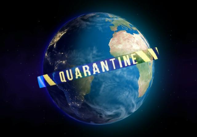World quarantined