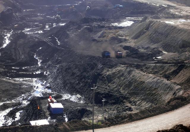 A coal mine near Hailar. Inner Mongolia