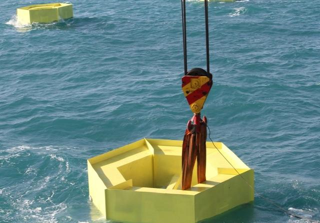Buoy installation
