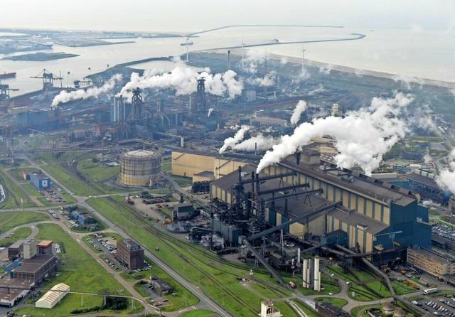 Tata Steel, IJmuiden, Netherlands