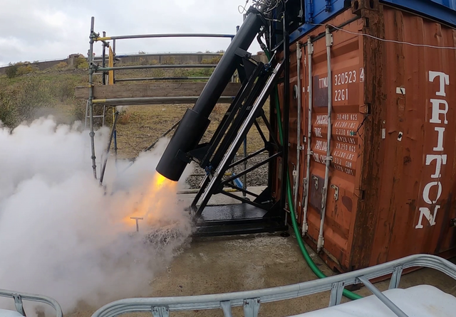 Skyrora rocket engine tests