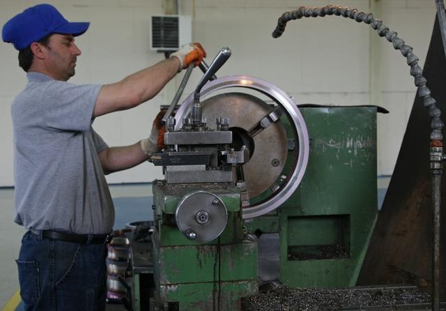 Making industrial valves