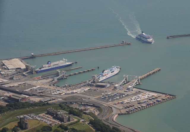 Port of Dover, UK
