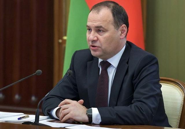 Belarusian PM Roman Golovchenko