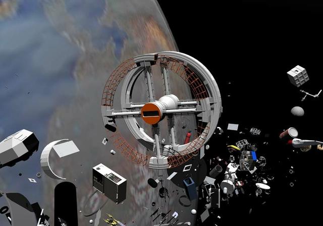 Space junk. Credit: Miguel Soares