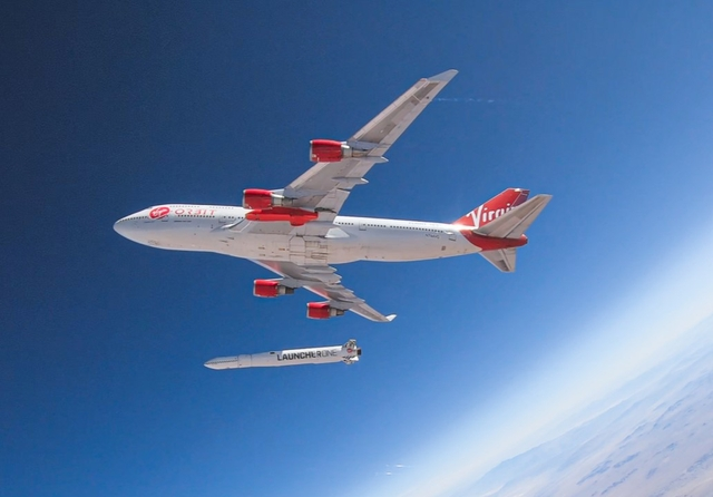 Virgin Orbit Cosmic Girl