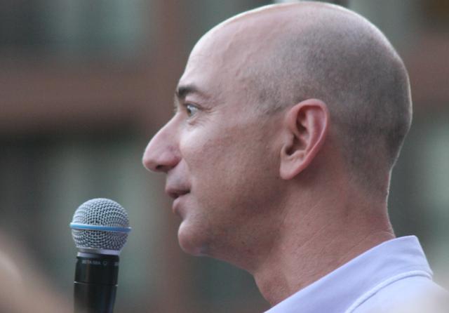 Jeff Bezos. Credit: Doc Searles / Flickr