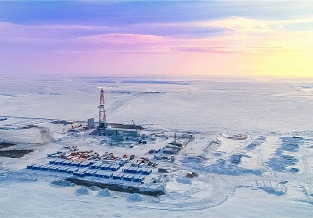 Taymyr drilling, Russia. Credit: lukoil.ru