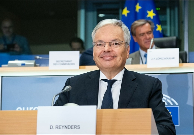 Justice Commissioner Didier Reynders