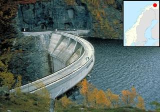 Alta dam, Finnmark, Norway. Credit: Statkraft